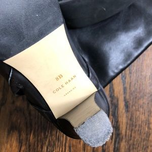 Cole Haan Shoes - Cole Haan black tall boots.